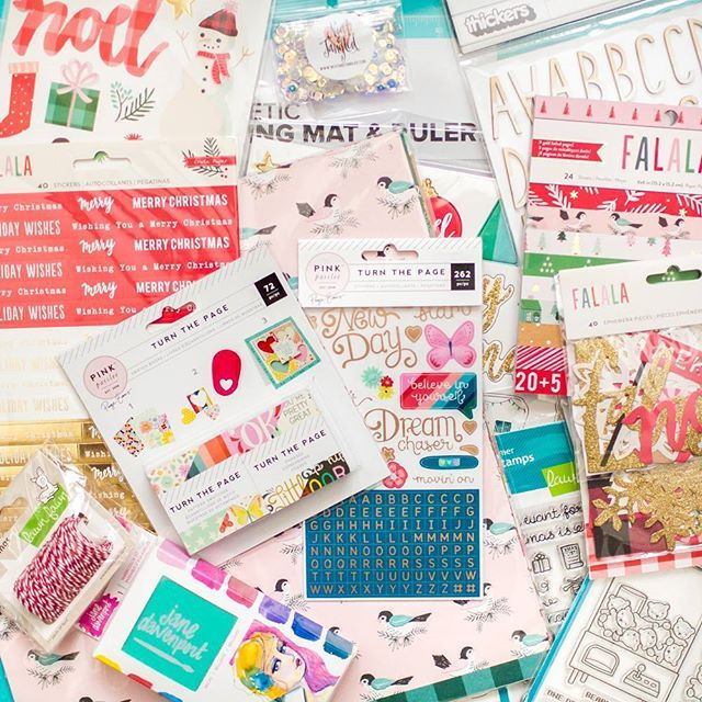Huge #scrapbookhaul from @pinkandpapershop 😍 🎠Inside #cpfalala collection from @cratepaper #ppturnthepage from @pinkpaislee @paigetaylorevans amazing @lawnfawn #stamps #cuttingmat from @wermemorykeepers amazing #watercolor paint from @janedavenport sparking #sequins from @neatandtangled 😍 Thank you #pinkandpapershop 📦 They have the best scrapbook things and fast shipping all over Europe🔝 #pinkandpapershop #scrapbooking #scrapbook #scrapbookalbum #papercraft #goldfoil #cardmaking #card…