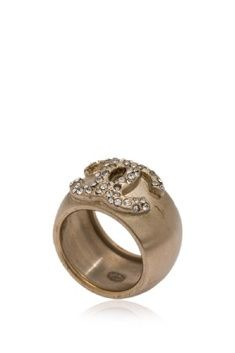 Vintage Pre-owned Chanel Ring