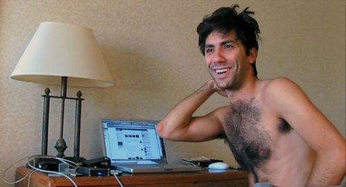 Nev Schulman....I'm in love with him no matter how hairy he is