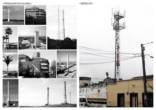 Los 12 mejores proyectos arquitectónicos de fin de carrera en Colombia,Torres de telecomunicación, paisajes ocultos. Image © Alejandro Vargas, Iojann Restrepo, Daniel Zuluaga