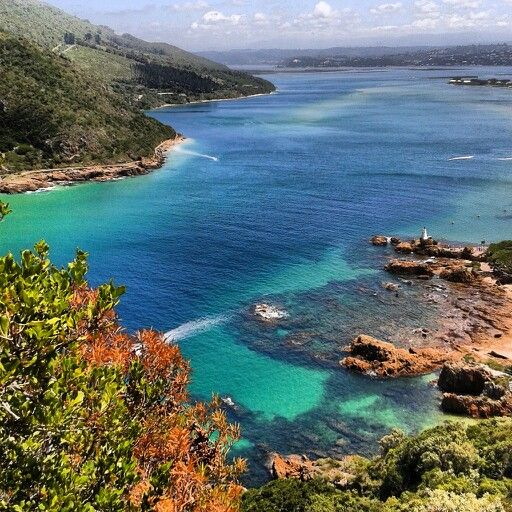 Knysna Lagoon Knysna South Africa - Where I'll be heading two weeks from now!