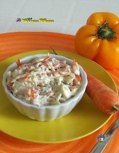 Oggi vi lascio una ricetta buonissima INSALATA CAPRICCIOSA molto simile all'insalata russa..... http://blog.giallozafferano.it/lacucinadimarge/insalata-capricciosa/
