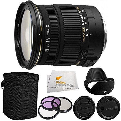 Sigma 17-50mm f/2.8 EX DC OS HSM FLD Large Aperture Standard Zoom Lens for Canon Digital DSLR Camera + 3 Piece Filter Kit (UV-CPL-FLD) + Microfiber Cleaning Cloth  http://www.lookatcamera.com/sigma-17-50mm-f2-8-ex-dc-os-hsm-fld-large-aperture-standard-zoom-lens-for-canon-digital-dslr-camera-3-piece-filter-kit-uv-cpl-fld-microfiber-cleaning-cloth-2/