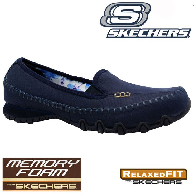 LADIES SKECHERS MEMORY FOAM LIGHTWEIGHT WALKING BALLET PUMPS TRAINERS SHOES NEW | eBay