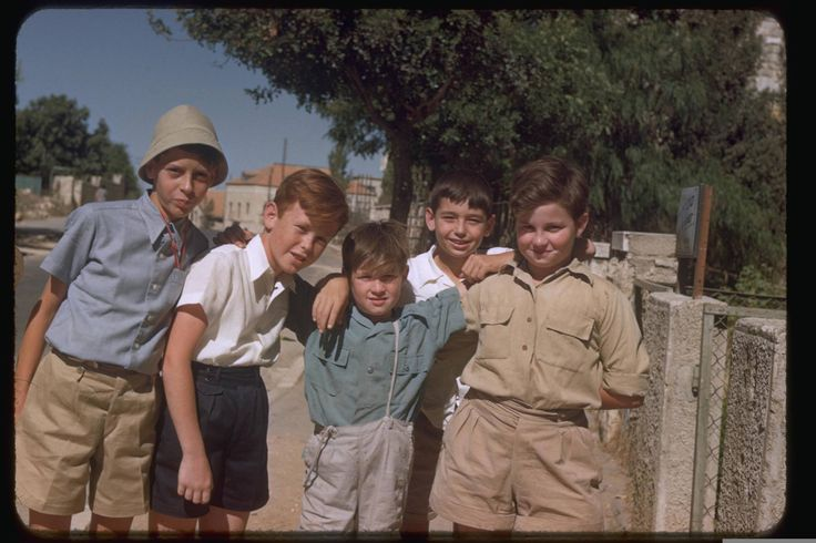 Jerusalem, July 1950, Katcoff collection.