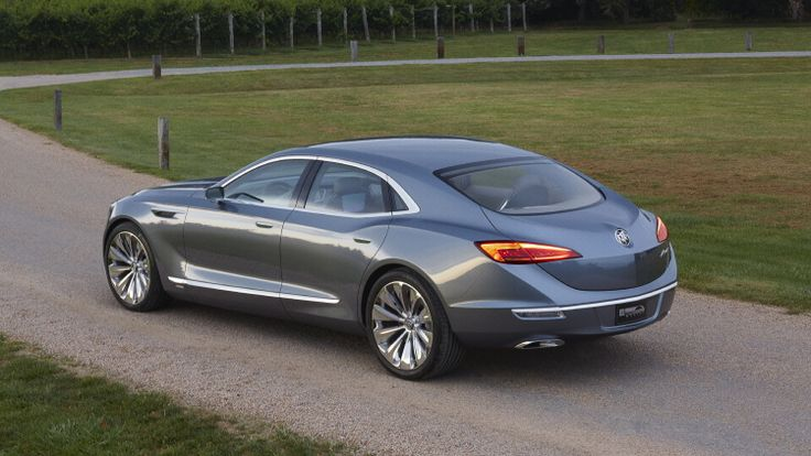 I'm pretty impressed by the Buick Avenir Concept