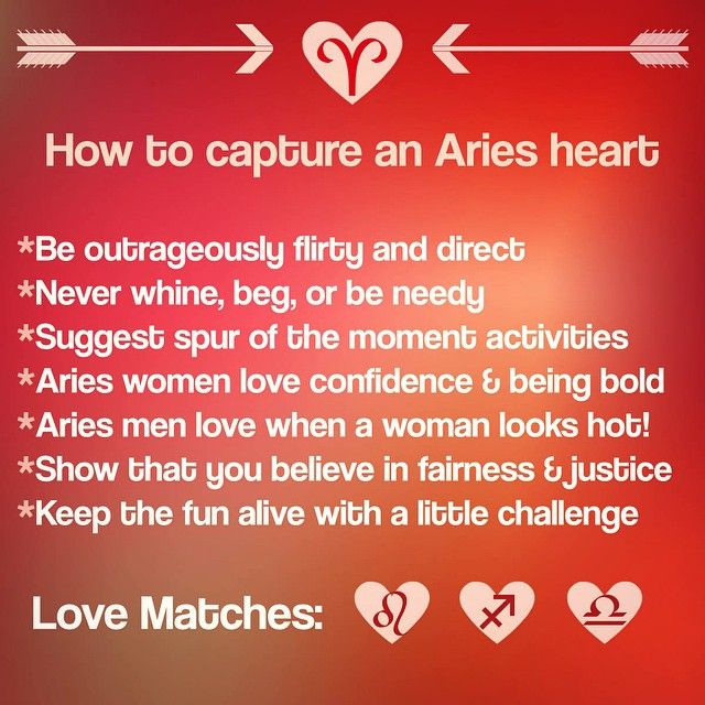 Aries Love Match