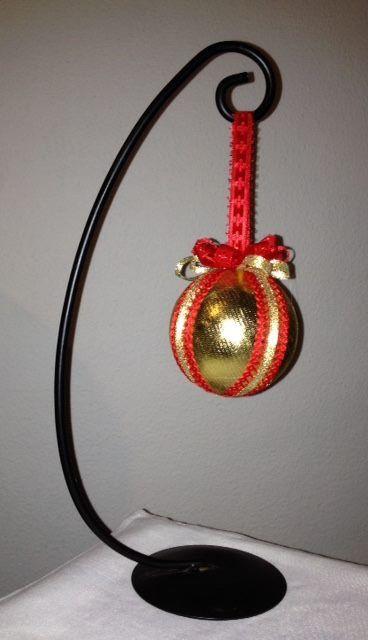 Art 2 - Dekoration i guld och rött - Decoración en oro y rocha  http://marinas-tienda-de-artesanias.myshopify.com/