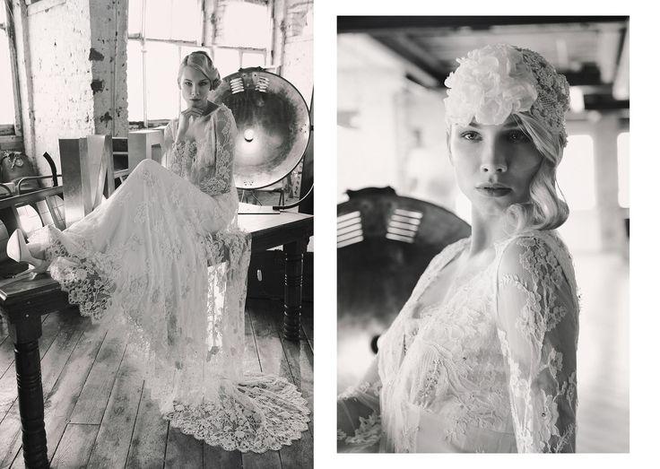30s Bride Photo: Anna Kirschner http://kirschnerstudios.co.uk/ Hair Stylist & Make Up Artist: Zoe Kramer Stylist: Kiera Liberati Model: Beata