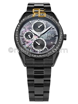 Aries Gold Inspire Lady Pearl Lady Limited Edition L-1156A-BK-BLACK