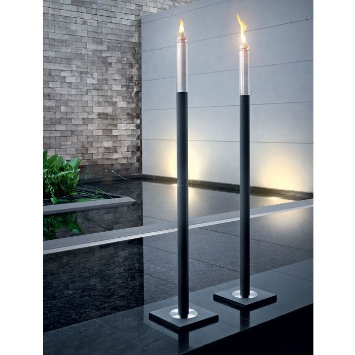 Shop Modern Bathroom Blomus Barra Cylinder Torch   Polystone And Other  Modern And Contemporary Home And Office Furniture. Browse Our Selection Of  Outdoor ...