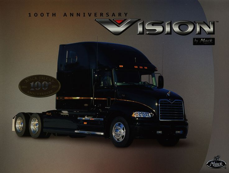Mack Vision - 100th Anniversary 2000; truck brochure | by worldtravellib World Travel library - The Collection