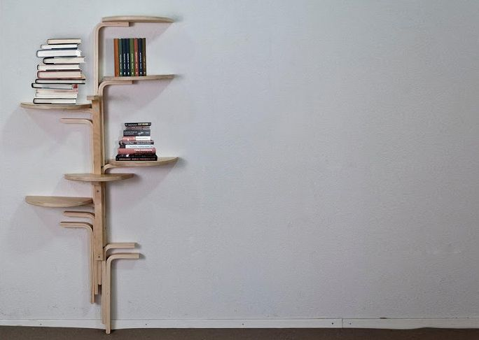 Bookshelf from a Stool maybe not for books?