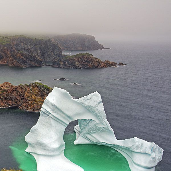 Twillingate, Notre Dame Bay, Newfoundland....and I have seen iceburgs UP  CLOSE!  One of our favourite places to visit...=]