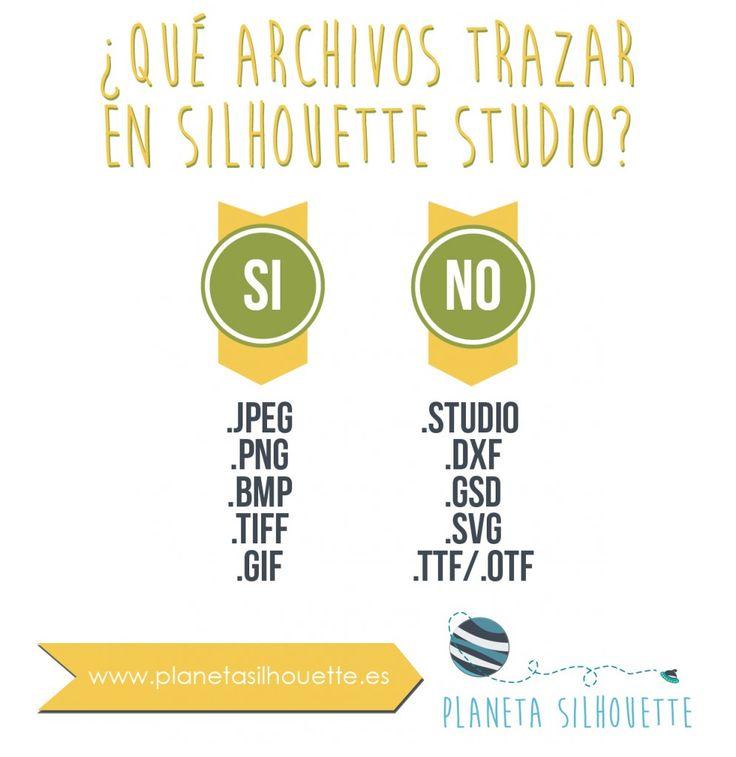 Archivos que hay que trazar en Silhouette Studio