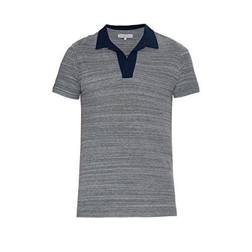 (オールバー ブラウン) Orlebar Brown メンズ トップス ポロシャツ Felix two-tone cotton-pique polo shirt 並行輸入品  新品【取り寄せ商品のため、お届けまでに2週間前後かかります。】 商品詳細1:100% cotton. 商品詳細2:-