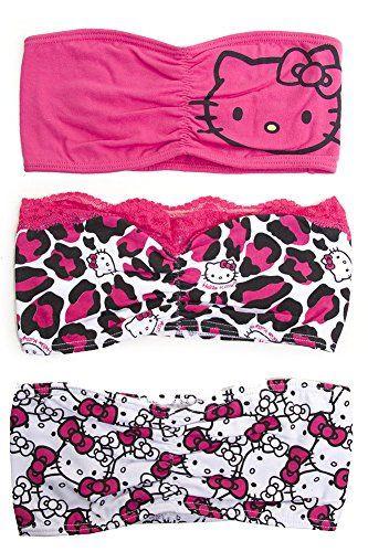 3pc Pretty Hello Kitty Licensed Bandeau