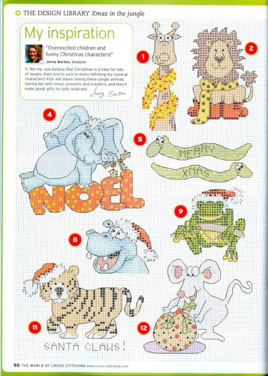 Jungle Christmas, charts, page 2/6u