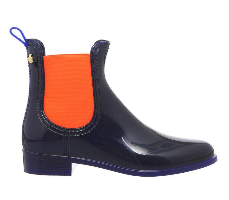 Lemon Jelly Pisa Chelsea Boot Indigo Orange - Ankle Boots