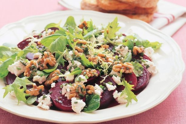 Roast beetroot salad recipe