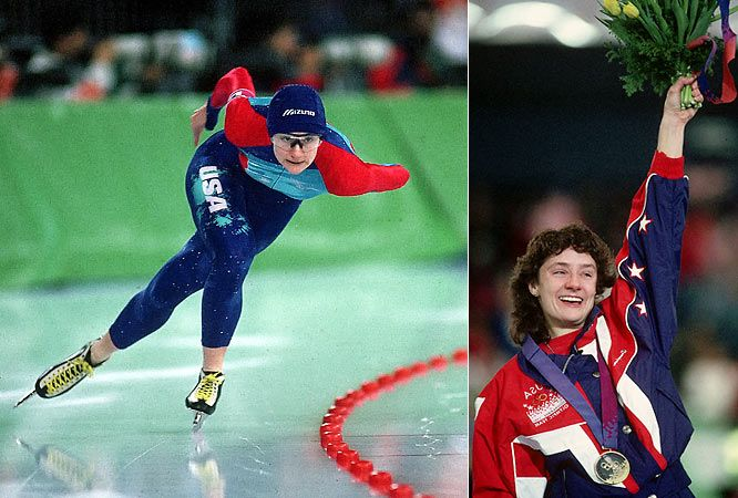 Bonnie Blair: One of the most honored Winter Olympians the US ever produced. She was a extremely decorated Speedskater (not short track) She won 6 Olympic medals, five of them gold starting in the 1988 Olympics until 1994. Blair also won the World Cup points championship 11 times. Blair also competed in short-track speed skating, becoming the Overall Short-track World Champion in 1986.