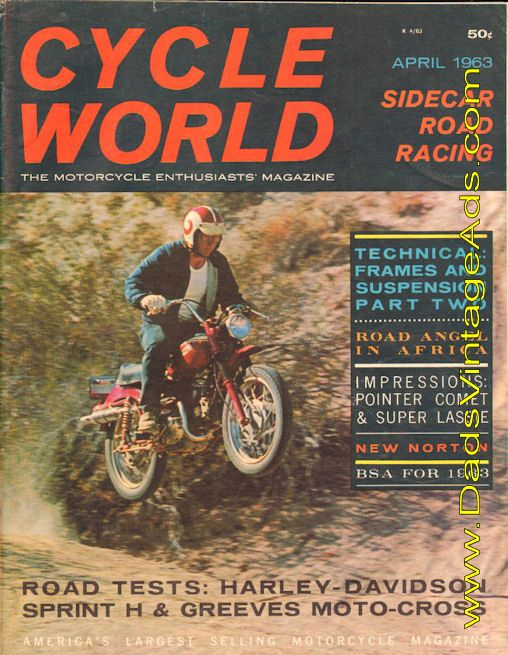 1963 Harley-Davidson Sprint H Road Test / Specs – a very versatile lightweight