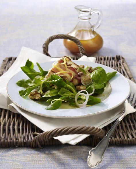 Unser beliebtes Rezept für Feta in knusprigem Speckmantel auf Feldsalat mit Himbeervinaigrette und mehr als 55.000 weitere kostenlose Rezepte auf LECKER.de.