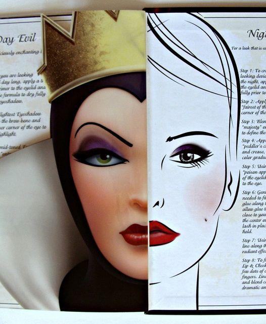 Dramatic face makeup   ELF Evil Queen Face Make-Up Set Disney Villain Halloween Book Devious ...