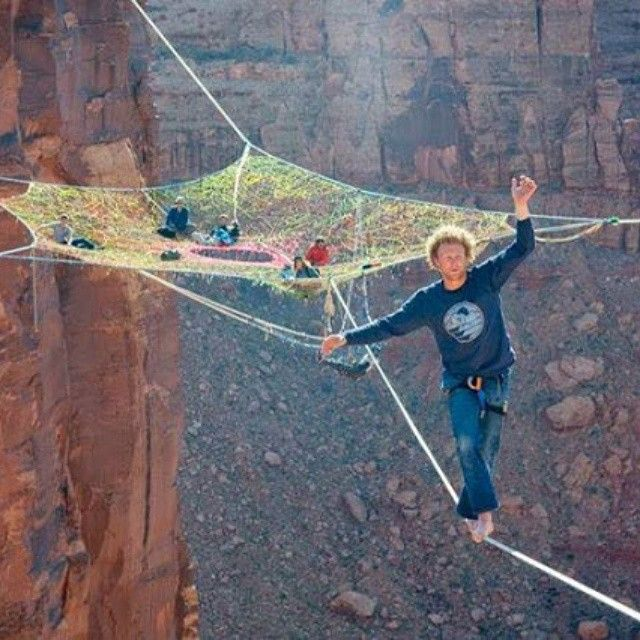 Stop living on the edge with fake followers!! Get the real thing at IBoom media!! #iboommedia #livingontheedge #tightrope #amazing