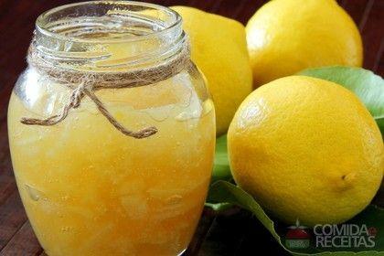 Receita de Geléia de limão em receitas de doces e sobremesas, veja essa e outras receitas aqui!