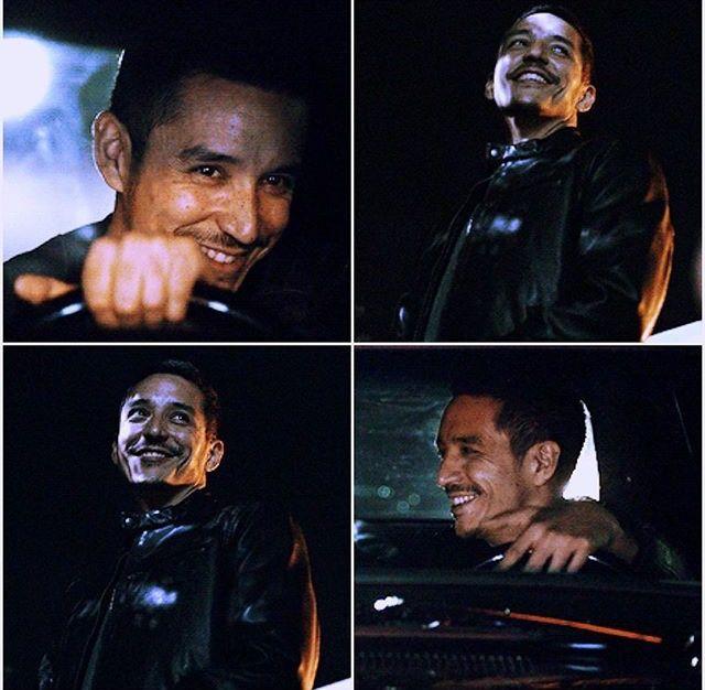 Reyes of sunshine, aka smiling Robbie Reyes. Agents of Shield.