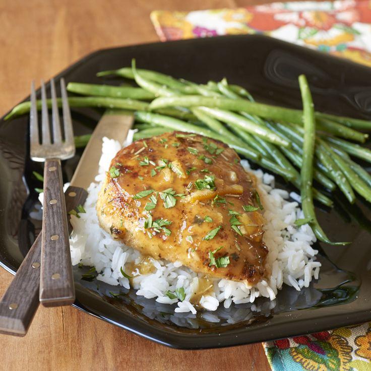 Orange-Sauced Chicken is a super-fast supper (think 10 minutes!) that's rich w...