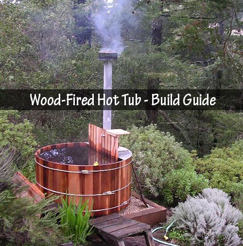 Amazing wood fired hot tub build guide originally a for Build your own sauna cheap