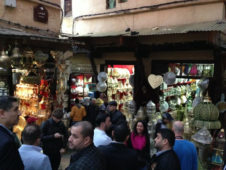 Medina Fez winkelstraatjes