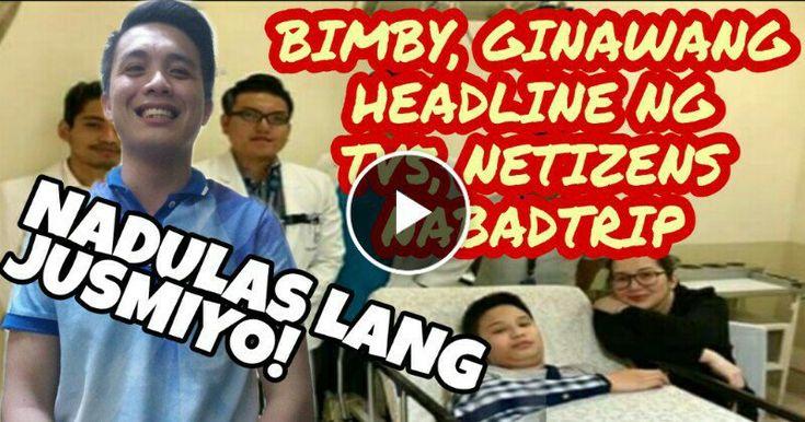 WATCH| Wala nang matinong mabalita ang TV5 kaya pati si Bimby headline nadin