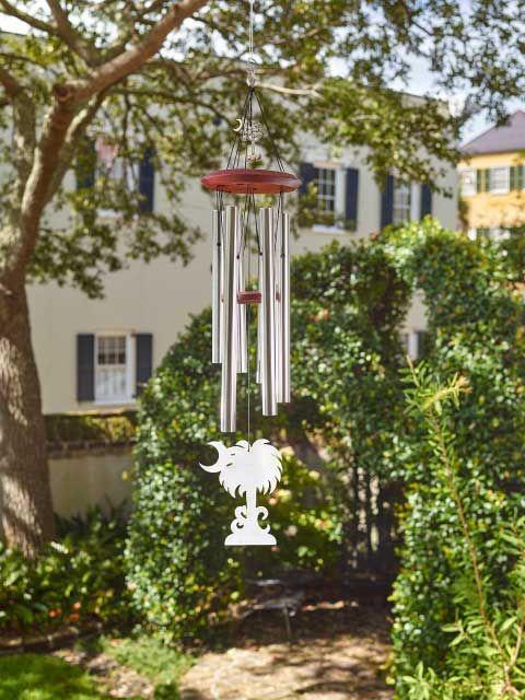"Charleston Chimes ""S.C. Palmetto Moon"" - Medium - Charleston Collections & Gifts"