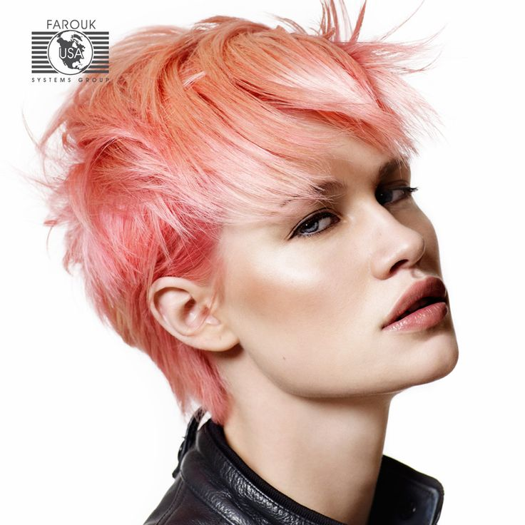 stylish hair style for coral hair color hair coral pink pink 8442
