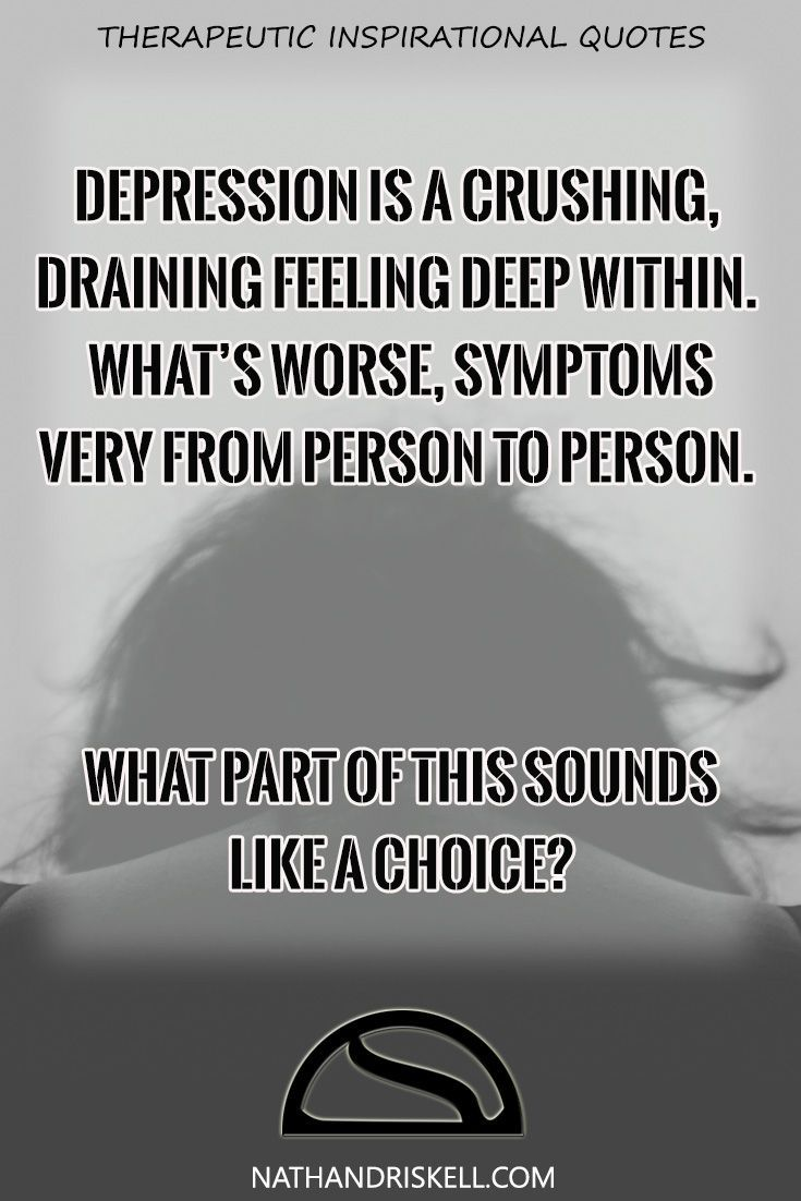Depression is a health condition that drains your energy and will to live. Depression is not a choice or an excuse. Depression is a chemical imbalance in the brain that influences energy, mood, sleep, and appetite. For some, depression is a lifelong condition. End the stigma toward those suffering from depression. #depression #stigma #mentalhealth nathandriskell.com