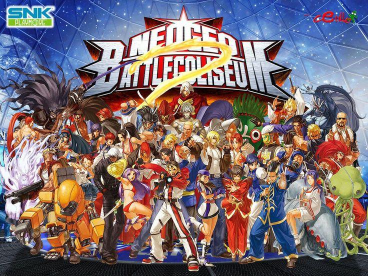 Neo Geo Battle Coliseum - SNK Playmore