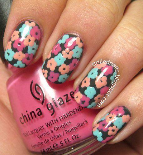nails design for short nails