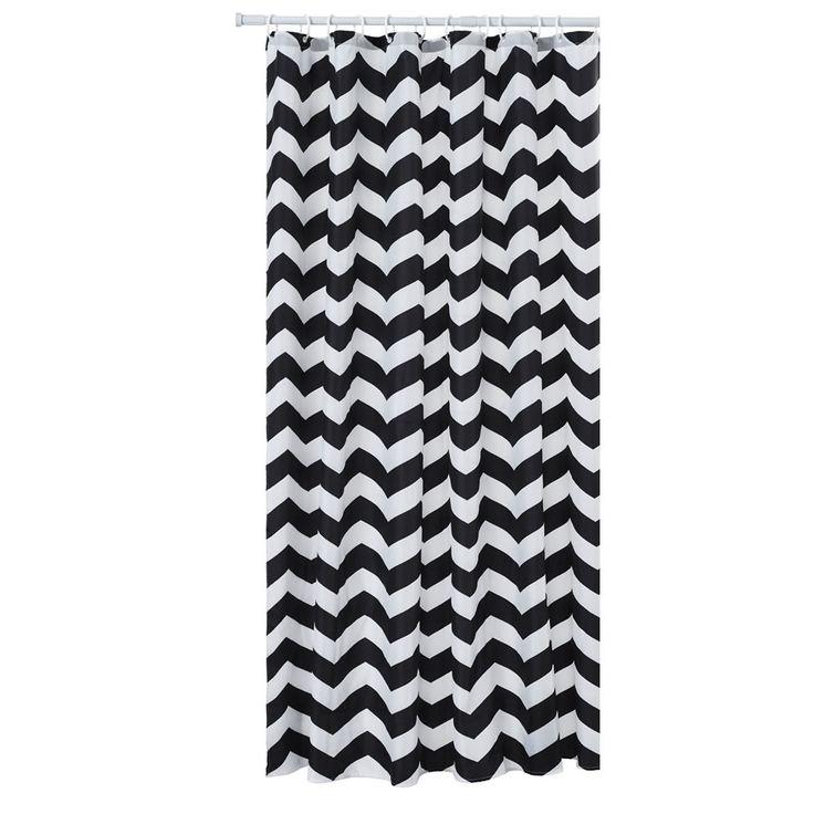 black and white chevron shower curtain. Chevron Shower Curtain Black Best 25 shower curtains ideas on Pinterest  Yellow fruitesborras com 100 And White