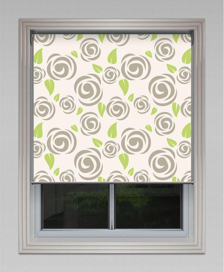 Flora Print Roller Blind #roller #blinds