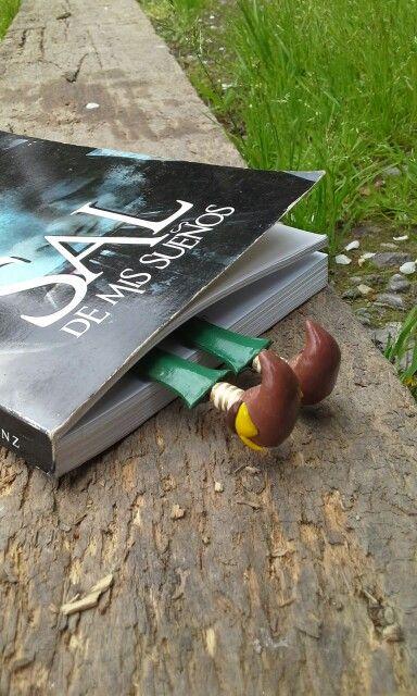 Marca paginas de patitas. Bookmark. #Book #Bookmark