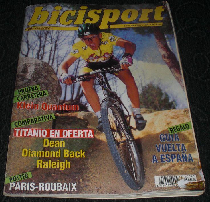 Revista Ciclismo Bicisport N 49 Mayo 1993 Poster suplemento giro vuelta tour