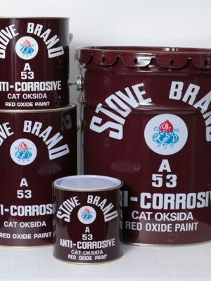 53A Anti-Corrosive Red Oxide : Designed for painting on all kinds of iron, steel and wood surfaces