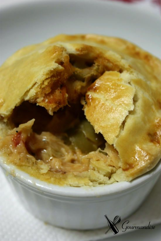 Gourmandise Torta de frango cremosa Mais