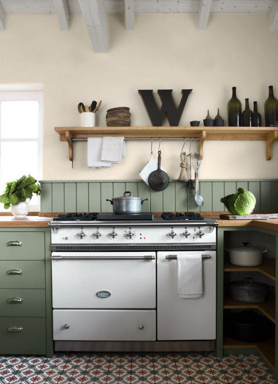 Bunte Fliesen Im Mediterranen Stil Sind Immer Ein Hingucker Und Werten Die  Küche Entscheidend ...