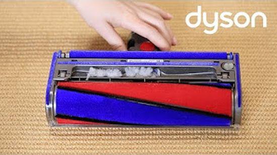 DYSON | V8 con Soft Roller - controllo blocchi/intasazioni [video] - http://www.complementooggetto.eu/wordpress/dyson-v8-soft-roller-controllo-blocchiintasazioni-video/