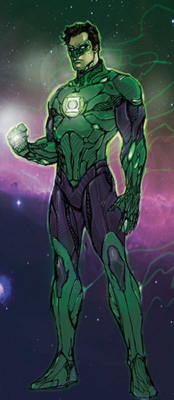 Green Lantern (Hal Jordan)  Auction your comics on http://www.comicbazaar.co.uk