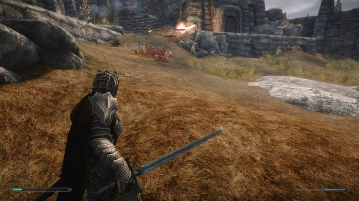 Just another modded Skyrim..... Yes I suck at Archery. #games #Skyrim #elderscrolls #BE3 #gaming #videogames #Concours #NGC
